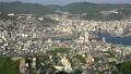 長崎市全景を俯瞰 稲佐山展望台からのパノラマ眺望 44328336