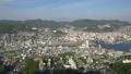 長崎市全景を俯瞰 稲佐山展望台からのパノラマ眺望 44328337