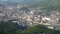 長崎市全景を俯瞰 稲佐山展望台からのパノラマ眺望 44328340