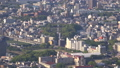 長崎市全景を俯瞰 稲佐山展望台から長崎平和公園を眺望 44328344