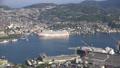 長崎市全景を俯瞰 稲佐山展望台からのパノラマ眺望 44328345