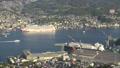 長崎市全景を俯瞰 稲佐山展望台からの長崎湾 タイムラプス 44328348