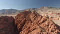 Red Rock Canyon Drone Aerial Video Nevada Canyon and Desert 44342096