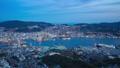 Day to night timelapse of Nagasaki city in Japan 44362777