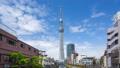 Tokyo Sky Tree with cloudy sky in Tokyo, Japan 44362783