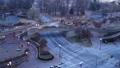 Time lapse of Key bridge in Washington DC at winter morning 44363048
