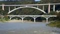 <神奈川縣的100座橋樑>出口增加的相模川和小倉橋(修復攝影)神奈川縣相模川市相模原市 44373634