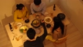 ปาร์ตี้หม้อไฟการกินหม้อรอบหม้อ 44386582