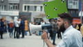抗議 デモンストレーション 抗議運動の動画 44393292