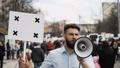 デモンストレーション 抗議運動 抗議の動画 44393323