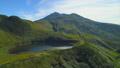 mountain, lake, mount chokai 44410272