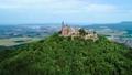 城堡 山峰 景色 44476522