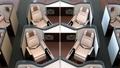 個室型ビジネスクラススイートの中央列のリクライニングシートがフルフラットに調整する動画 44488597