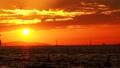 海上日落 44502885