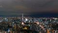 8K·東京夜景·遊戲中時光倒流·動態城市景觀從暮光之城到夜景8K從RAW 44522472