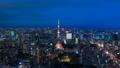 8K·東京夜景·延時·動態城市景觀從暮光之城到夜景8K從RAW 44522475