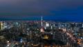 8K·東京夜景·延時·動態大城市暮光之城到夜景8K RAW縮小 44522476