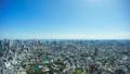 東京風光,超廣角魚眼攝影,遊戲中時光倒流,汐留到橫濱方向,地平線,背光,向下傾斜 44544725