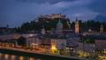 Time lapse video of Salzburg skyline in Austria 44653104