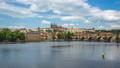 Time lapse video of Prague skyline in Czech 44653108