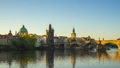 Time lapse video of Prague old town with sunrise 44653113