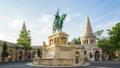 A bronze statue of Stephen I of Hungary Budapest 44653117