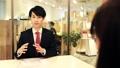 オフィス ビジネスマン 男性の動画 44675734