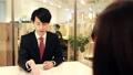 オフィス ビジネスマン 男性の動画 44675736
