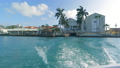 Sailing on rough seas at speed at Aruba 44707895