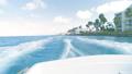 Sailing on rough seas at speed at Aruba 44707896