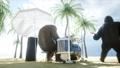Beach Palm Tree 44778973