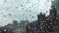 비 오는 날의 풍경, 유리창의 빗방울 44834330