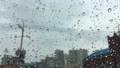비 오는 날의 풍경, 유리창의 빗방울 44834331