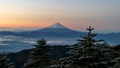 从Kushigatake山顶顶部的富士山和Mt. Unkai游戏中时光倒流黎明 44840995