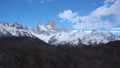 Dolly shot of Monte Fitz Roy in Argentina 44898381