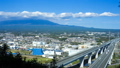 Mt. Fuji and Shin-Tomei Expressway, timelapse, tilt up 44943767