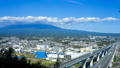 Mount Fuji and the Shin-Tomei Expressway, time-lapse fix 44943769