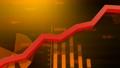 Business economy graph data chart 44950195