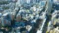 도쿄 거리 · 부감 · 저속 · 에비스 역 · 확대 45023924