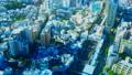 도쿄 거리 · 부감 · 저속 · 에비스 역 · 컬러 그레이딩 45023926