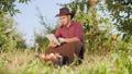 農業 農夫 農家の動画 45048402