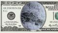 Waterfall in frame of 100 dollar bill 45050373