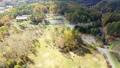 長野県 開田高原の牧場を空撮 45066974