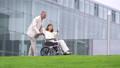휠체어 간호 의사 병원 의료 이미지 45128992