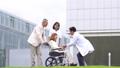 휠체어 간호 재활 의료 이미지 45128995