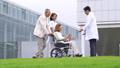휠체어 간호 재활 의사 의료 이미지 45128998