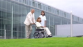 휠체어 간호 재활 의료 이미지 45128999