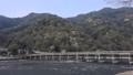 4月 桜の嵐山渡月橋  京都の春景色 45139731