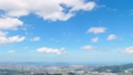 Urban landscape Fukuoka city Scenery from the mountain observatory of rice Time lapse 45147537