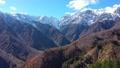 雪に覆われ始めた白馬連山 45169743
